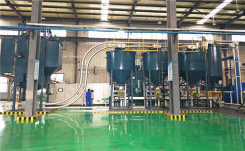 管链输送机在多种粉体输送上的优势,环保又能精确计量