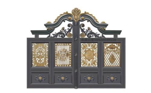 鋁合金別墅庭院門在悄悄佔領整個建材市場了