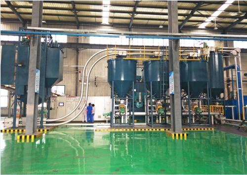 多出料口管鏈輸送機實現定量下料,提高自動化程度