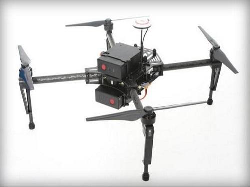 农用无人机装备多谱段传感器