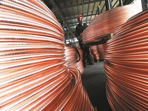 我国有色金属原材料进口逆势增加