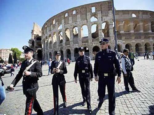 中意首次联合警务巡逻罗马启动