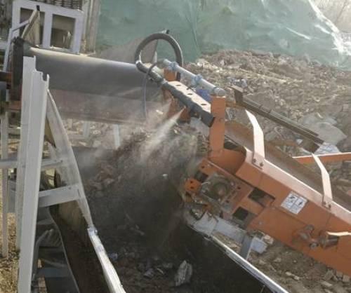 建筑垃圾喷雾降尘系统在环境治理中作用凸显?