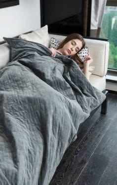 提高睡眠质量-重力毯