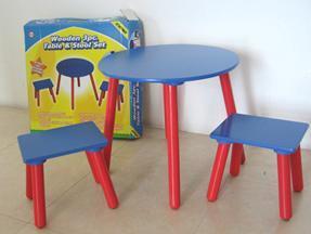 儿童彩色桌椅套装