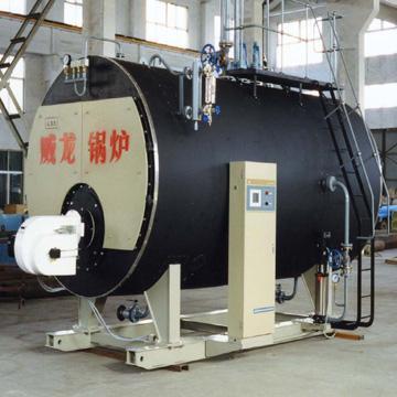 燃油燃气卧式蒸汽 热水锅炉