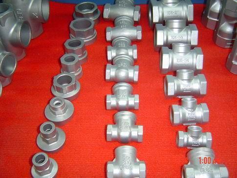 产品是各种精密铸钢件(材质为各种碳钢、合金结构钢和不锈钢)及汽