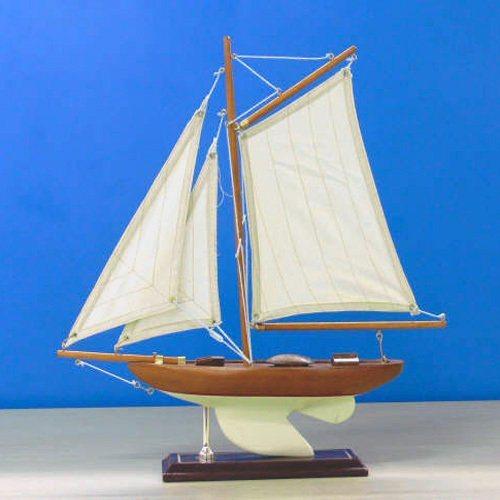 蔚蓝牌手工制造OP帆船模型