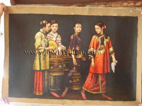 油画 - 中国古典人物高清图片