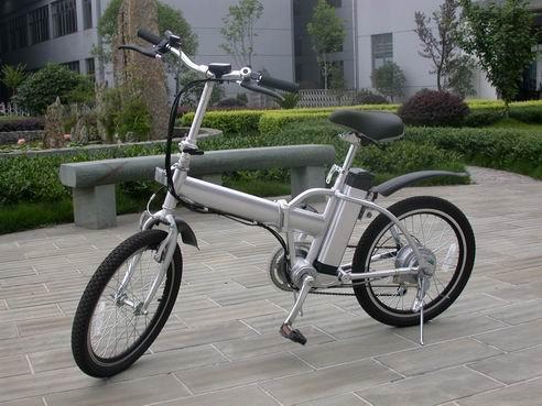 锂电池折叠电动自行车 YCEB 7589