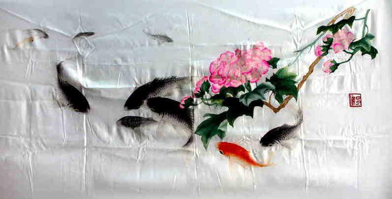四大名绣-蜀绣 - 苦作舟居士 - 爱的翅膀 的博客