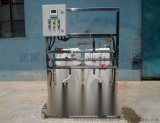 厂家定制带计量泵液体搅拌桶,平底塑料搅拌桶