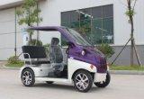 新款电动四轮观光车 电瓶代步车1+2 老年人代步车价格