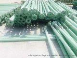 供应农田灌溉双法兰玻璃钢管道 法兰盘扬水管