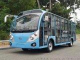 23座全封闭观光车 旅游景点观光车 大型四轮电瓶车