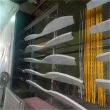 外牆弧形鋁方通木紋圖案 吊頂波浪形鋁方通生產廠家