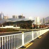 钢制道路隔离栏杆,常规道路护栏,市政隔离护栏