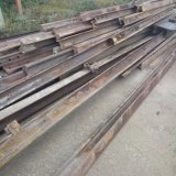 出售废旧50道轨再用钢轨,小道轨二手旧钢材库存充足