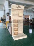 超市化妆品展柜展览展会木柜木质展柜展示架陈列架