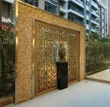 304不鏽鋼折疊隔屏 餐廳裝飾金屬不鏽鋼折疊屏風