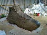 玻璃鋼仿真鞋子雕塑定制廠家 禮品慶典運動鞋模型雕塑
