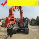挖掘機打樁錘 打拔樁機 大宇挖掘機打拔鋼板樁