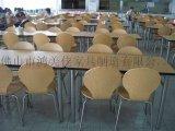 不锈钢分体弯木餐桌椅,西餐厅专用高档不锈钢分体餐桌椅厂家优惠供应
