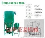 聖諾SN-1000A立式自吸式攪拌粉碎一體機飼料攪拌機豬養殖專用精飼料攪拌粉碎機