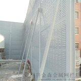 江西外殼金屬鍍鋅板裏層玻璃棉高速公路隔音屏障生產