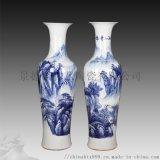 陶瓷時尚禮品花瓶擺件 中國紅擺件牡丹花瓶