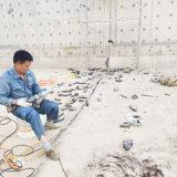 水电站电缆沟堵漏-环保工程底板缝漏水处理