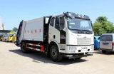 國六環衛垃圾車    解放14方壓縮式垃圾車