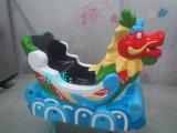广州玻璃钢雕塑龙舟头游戏机雕塑  龙舟机壳雕塑厂家