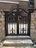 西安別墅大門 庭院大門價格 鋁藝自動平開門