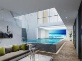 别墅泳池设备泳池专用三集一体热泵除湿机