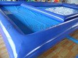 充氣水池  遊泳池  支架池  pvc夾網布加厚型
