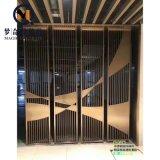 辦公不鏽鋼隔斷牆屏風 花格背景 KTV豪華裝飾屏風