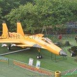 大型仿真軍事殲-15艦載機模型