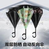江西廣告傘定制找頂峯-反向雙層太陽防曬
