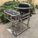 鐵質模板審訊椅 鋼管審訊桌椅帶U型鎖