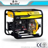 3KW 220V开架柴油发电机,电启动发电机带20AH电瓶,3000转风冷柴油发电机