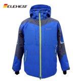 滑雪發熱服男士防風防水智慧電熱服衝鋒衣