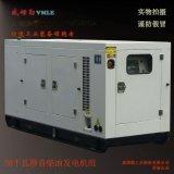 濰坊威姆勒50千瓦柴油靜音發電機組 50KW靜音箱發電機 廠家直銷