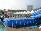 勇士-靜電噴塗支架遊泳池
