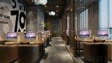 現代簡約中式屏風隔斷客廳酒店餐廳玄關牆裝飾