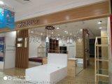 山东潍坊定制家纺展示柜、品牌家纺柜台、展架设计制作