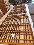 304不鏽鋼方管焊接玫瑰金屏風隔斷廠家
