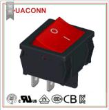 (HUACONN/華琴)雙極船型開關/翹板開關/大電流開關/電源開關/20A開關/CQC/VDE/ENEC/UL/KC認證/雙刀雙擲