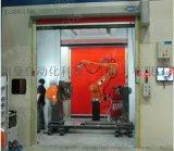 伺服系統闊曼自動化焊接防護門與機器人連接2年保質