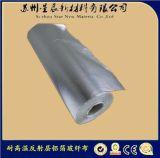 供应保温材料铝箔布 防火隔热布 耐高温硅胶玻纤布 耐高温玻纤布